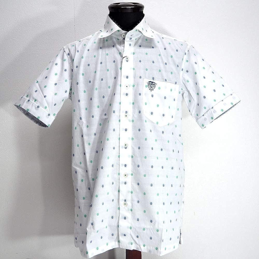 1着でも送料無料 50147 ゴルフ Vittorio Carini 日本製 シャツ シャツ 半袖 ホワイト 50(LL) Vittorio サイズ 日本製 メンズ カジュアル 男性 春夏 ゴルフ 通販 B07NP7G9W2, シムカップムラ:960c55ba --- narvafouette.eu
