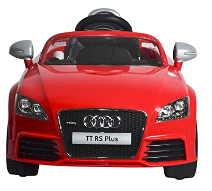 Buy Mera Toy Shop B Wild Audi Tt Rs Plus Electric Motor Car Red