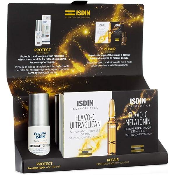 ISDIN Isdinceutics Set de Flavo-C Ultraglican Live Young: Amazon.es
