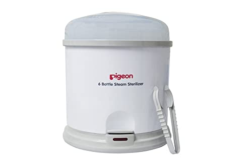 5. Pigeon 6 Bottle Steam Sterilizer