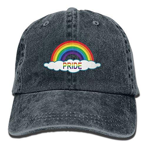 Rainbow Cowboy Hat (LGBT Pride Rainbow Unisex Cowboy Cap Custom For Man And Woman)