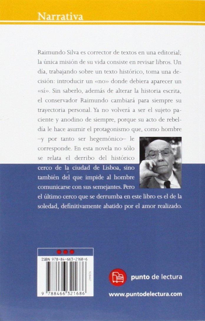 Historia del cerco de Lisboa (Narrativa (Punto de Lectura)) (Spanish Edition): Jose Saramago: 9788466321686: Amazon.com: Books