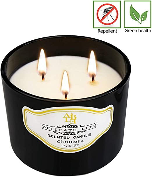 up to 10 hours each 8 x Prices Maxi Citronella Scented Garden Candle Candles