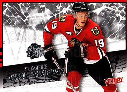 Victory Hockey Cards (Jonathan Toews Hockey Card 2008-09 UD Victory Game Breakers 43 Jonathan)