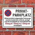 Schild Parkverbot, Halteverbot, Ebay.pl, 3 mm Alu-Verbund (300 x 200 mm)