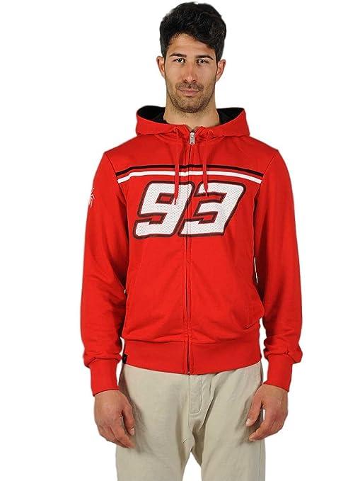 Sudadera Marc Marquez 93 con capucha y cierre delantero (XL)