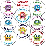 'Growth Mindset' Monster Teaching Reward School Stickers 25 Millimetre x 90 - Primary Teaching Services
