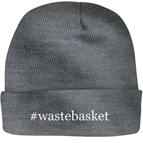 Shirt Me Up #Wastebasket - A Nice Hashtag Beanie Cap, Grey, OSFA