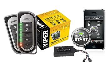 inspiration viper vsm200. Viper 5204 Car Alarm Security with Remote Start VSM200 SmartStart 2 way  Responder System Amazon com