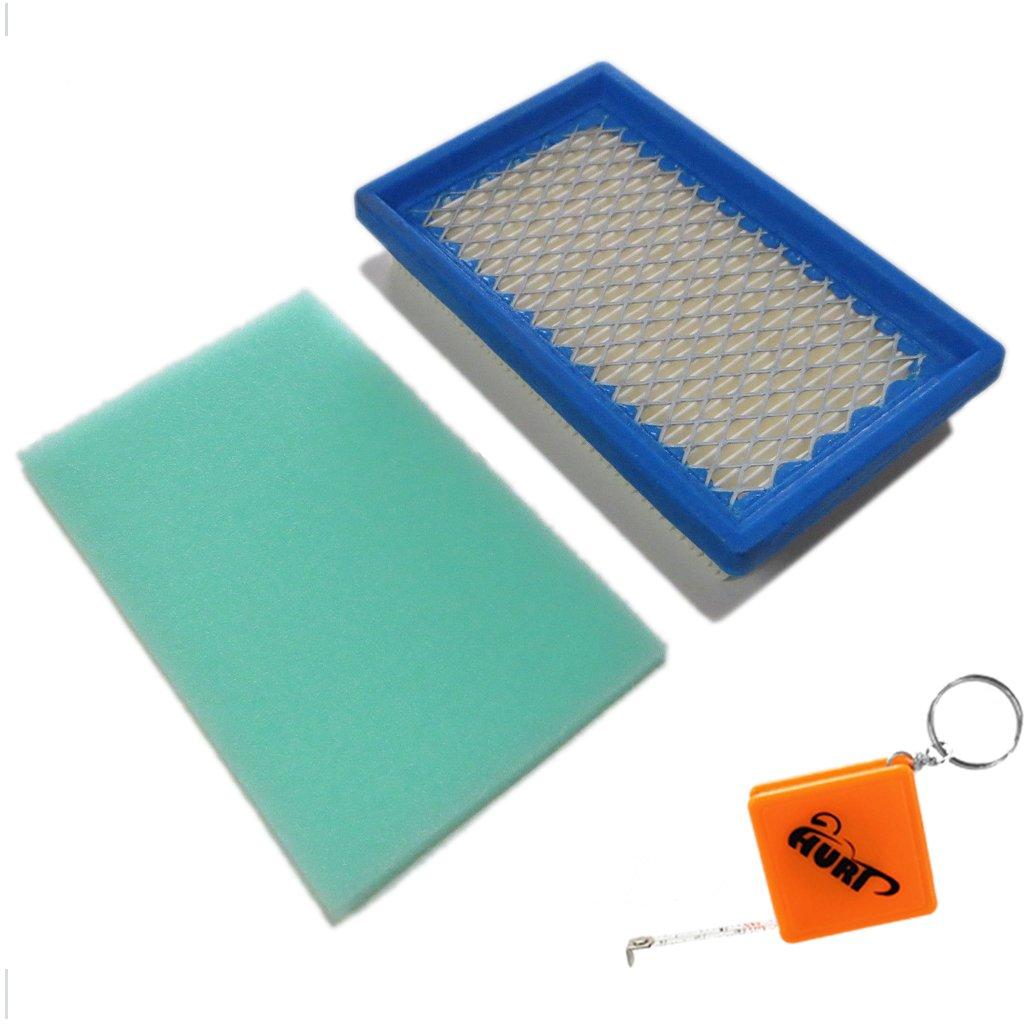 Huri - Filtro de aire con prefiltro para cortacésped MTD Thorx OHV ...