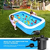 TrekPow Electric Air Pump for Inflatable Pool