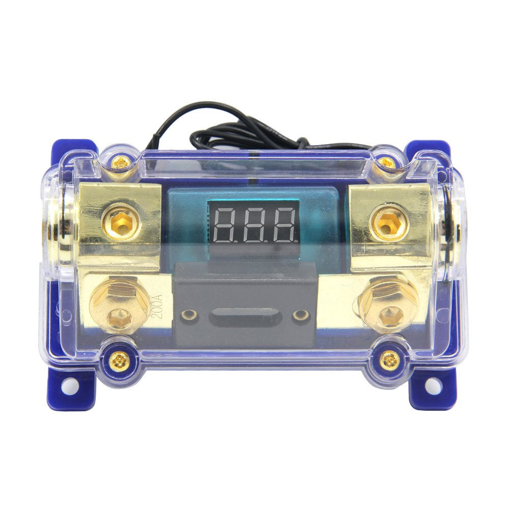 ZOOKOTO 100A 0//2//4 Gauge Fuse Holder with 100 Amp ANL Fuse