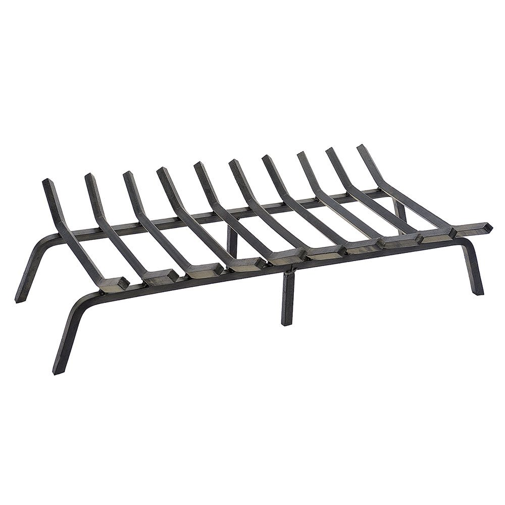 Minuteman International Non-Tapered Iron Fireplace Grate, 36-in x 17-in by Minuteman International