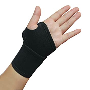 Andux Land Thick Wrist Wrap,Adjustable Wrist Support For Weightlifting/Crossfit/Powerlifting/