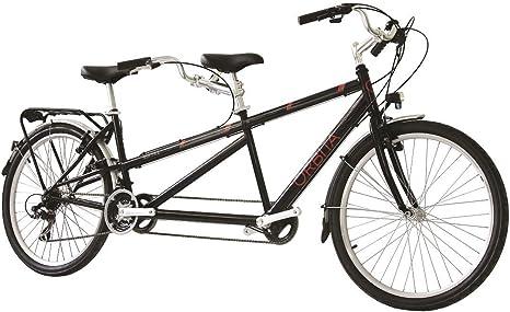 Bicicleta Tándem VTC Orbita Sintra Negro, 46 cm: Amazon.es ...