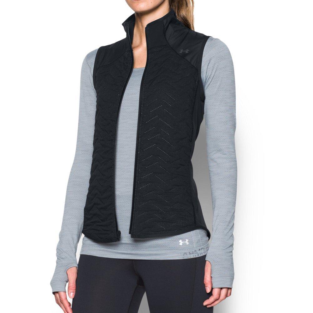Under Armour Women's ColdGear Reactor Fleece Vest,Black (001)/Black, Medium