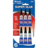 BAZIC 3g / 0.10 Oz. Super Glue (6/Pack)