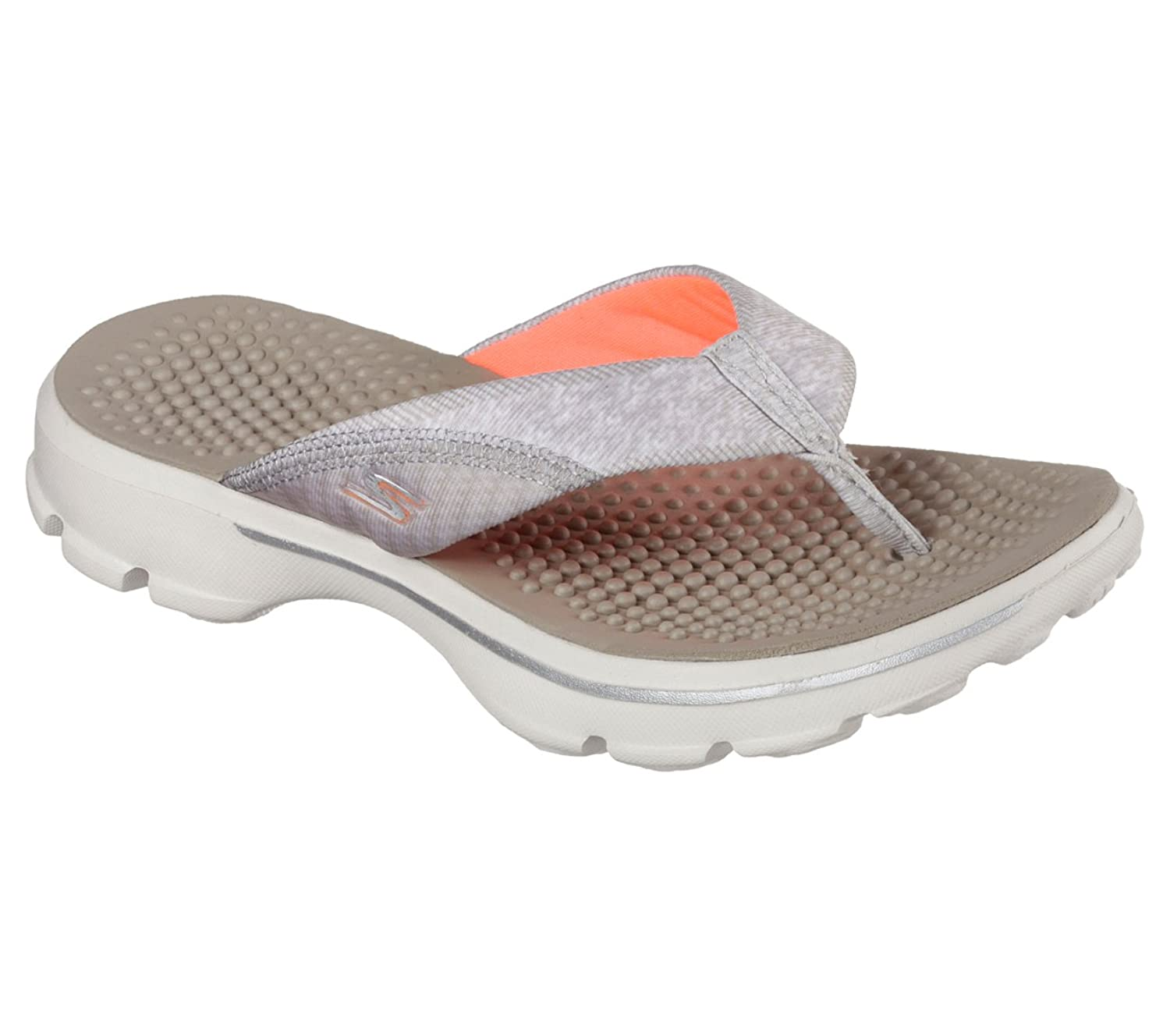 skechers yoga mat shoes. skechers performance womens go walk pizazz flip flop: amazon.ca: shoes \u0026 handbags yoga mat b
