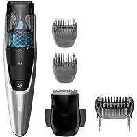 Recortador de barba inalámbrico Philips Norelco serie 7200, recortador aspirador con 20 configuraciones de largo integradas, BT7215/49