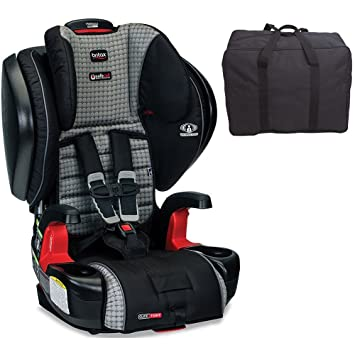 Britax Pinnacle G11 ClickTight Harness 2 Booster Car Seat With Travel Bag