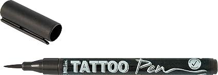 Kreul 62105 - TattooPen, Kosmetiktinte auf Wasserbasis, hält bis zu 5 Tage, dermatologisch getestet, vegan, parabenfrei, ausw