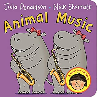 book cover of Animal Music