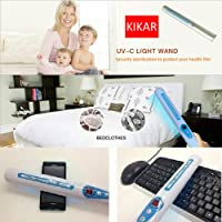 Portable UV Sanitizer Hand Wand Ultra Violet Light Kill Bacteria & Germ Sterilizer