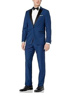 Amazon.com: Bryan Michaels para hombre un botón de Slim Fit ...