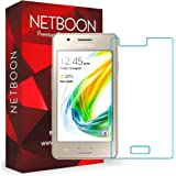 NETBOON® Tempered Glass HD Clarity Premium Quality Screen Protector for Samsung Z2 - Transparent