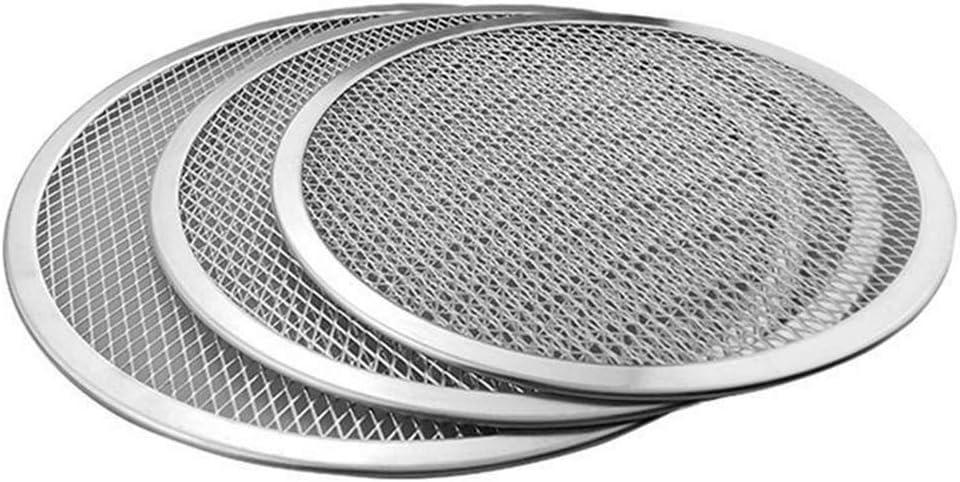 Round Non-Stick Mesh Pizza Screen Plate Pan Baking Tray Bakeware Tool 16 inch Non-Stick Mesh,Commercial Grade CONSTR 16//18//22 Inch Seamless Aluminum//Baking Screen