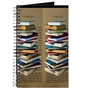 444899a5a98fe8 Amazon.com   CafePress - Book Lovers Flip Flops - Spiral Bound Journal  Notebook