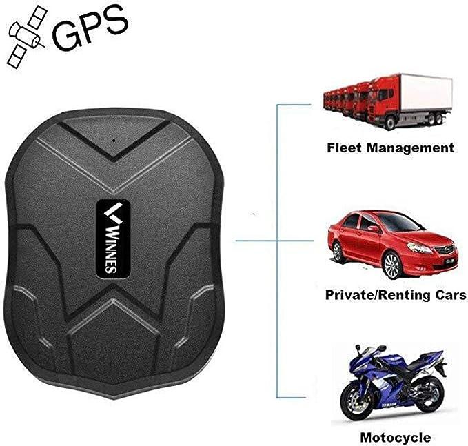 Winnes Localizador GPS para Coche, Tiempo Real GPS Tracker, Anti ...