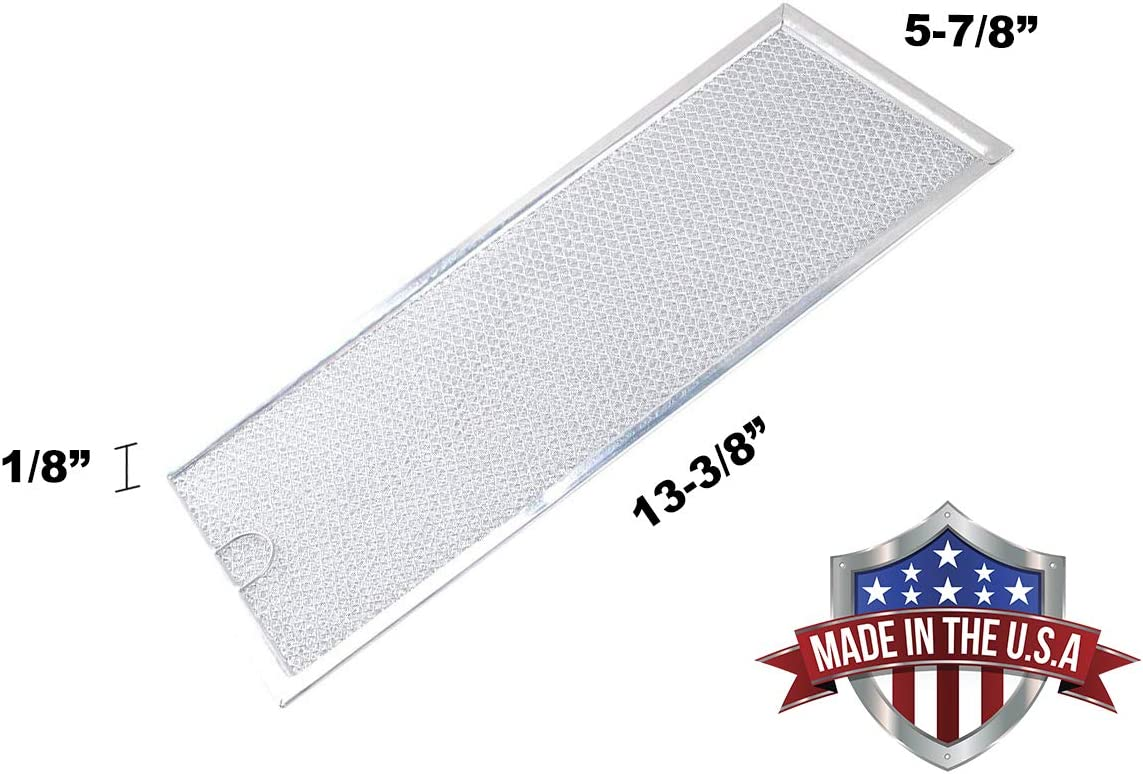 5-7//8 X 13-3//8 2 PACK 200206802 MICROWAVE GREASE FILTER