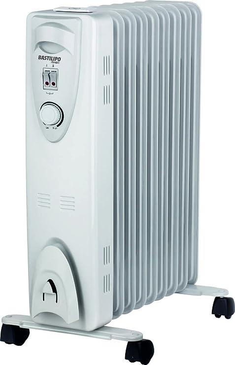 Bastilipo Rac 9-2000W Radiador de Aceite térmico-2000W de 9 ...