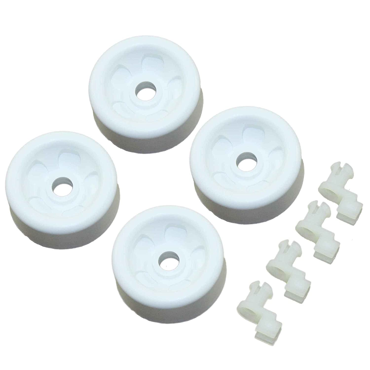 Supplying Demand WD12X271 Dishwasher 4 Pack Of Wheels WD12X0271 WD12X0440