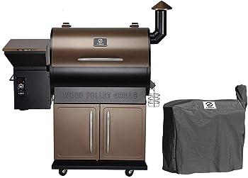 Z-Grill ZPG-700D Wood Grill Offset Smoker
