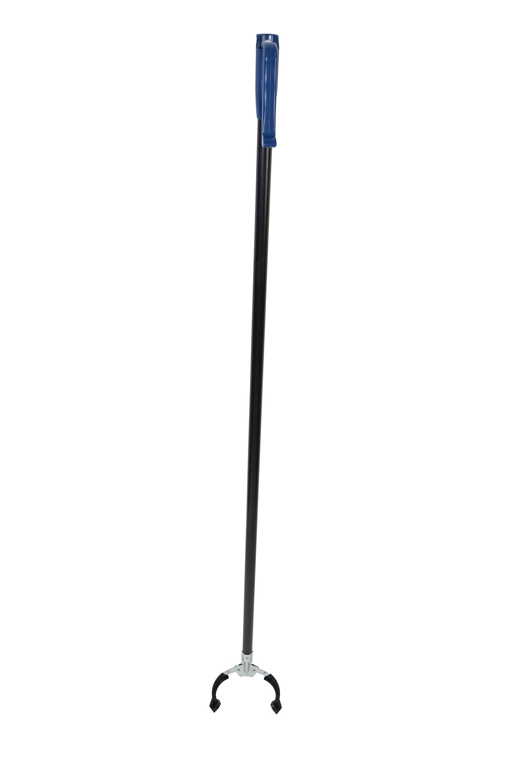 Janico 4871 Grab Reach Tool, Trash Garbage Pick Up Tool, Litter Picker, Pick Up Reaching Claw, 51 Inch Long, Black