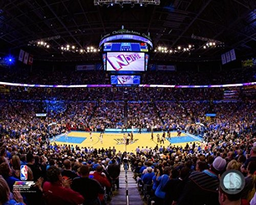 Chesapeake Energy Arena 2014 Photo Print  11 X 14