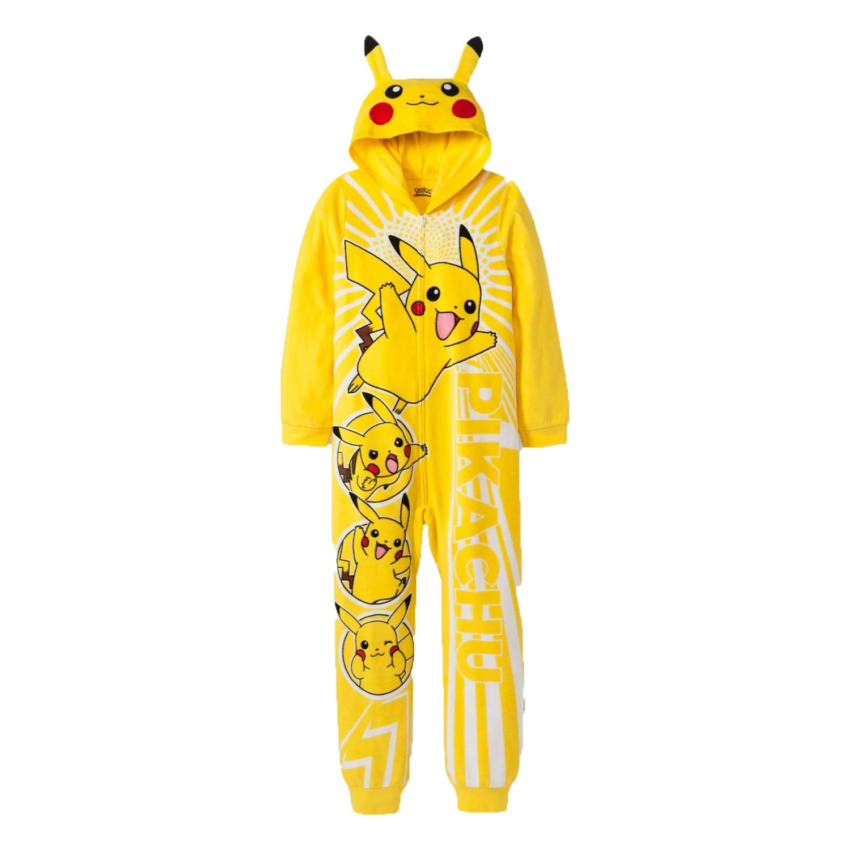 Amazon.com: AME Pokemon Pikachu - Traje con capucha para ...