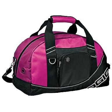 b4f3d9628954 Amazon.com  Ogio Half Dome Sports Gym Duffel Bag (29.5 Liters) (One Size)  (Hot Pink Black)  Clothing