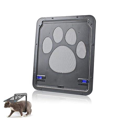 AOLVO - Protector de Puerta para Mascotas, Puerta pequeña para Perros y Gatos – Bloqueo
