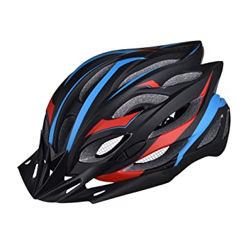 GWJ Casco De Bicicleta Bike con Luz Trasera De Seguridad LED/Visera Desmontable//