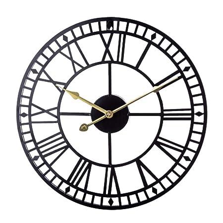 Zuji 40cm Horloge Murale Vintage Horloge De Décoration