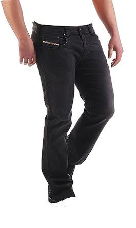 3668c4c34b3 Diesel Zatiny Jeans RA468 Regular Bootcut Black (31x30): Amazon.co.uk:  Clothing