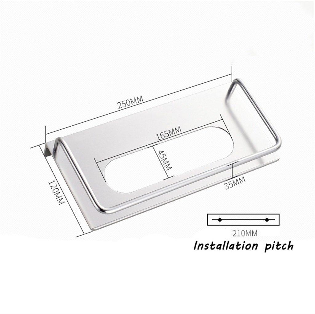 BZEI-HOLDER Espacio de pared Espacio Aluminio Papel higiénico Portapapeles Caja de toallas de papel para baño y cocina: Amazon.es: Hogar