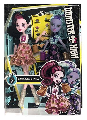 Monster High School Spirit 2 Pack Draculaura and Twyla Doll]()