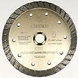 5 wet saw - ALSKAR DIAMOND ADLSC 5 inch Dry or Wet Cutting General Purpose Continuous Turbo Power Saw Diamond Blades for Concrete Masonry Brick Stone (5