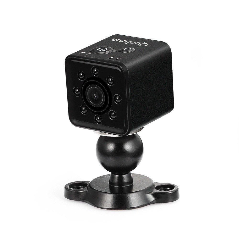 Harpily Mini Full HD 1080P DV Cámara de Acción Deportiva DVR Gran Angular de 155 Grados Grabadora Cámara Pequeño Control por WiFi Visión Nocturna (Rojo): ...