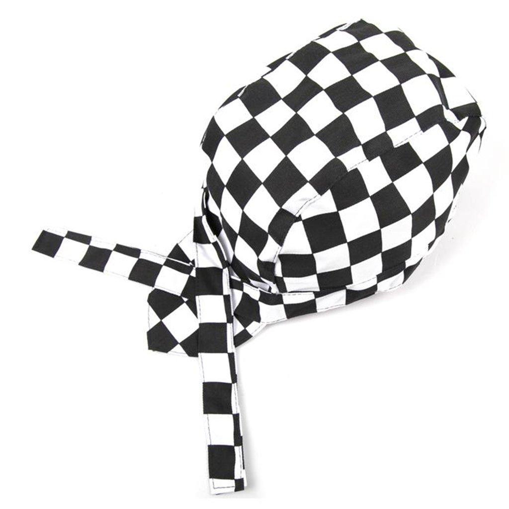 MagiDeal Cappello Testa Bandana Protezione Cappellini Uniforme da Cuoco Chef