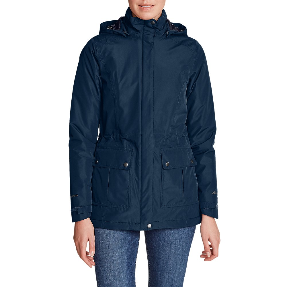 Eddie Bauer Women's Rainfoil Fleece-Lined Parka 20612236